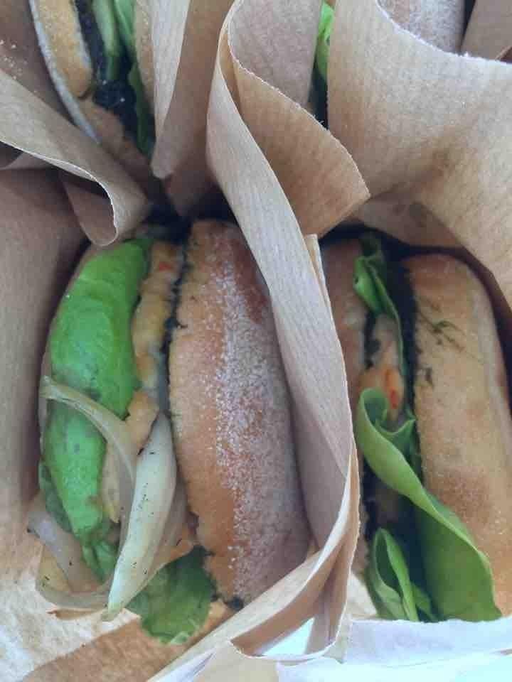 Amazing vegan bagels from Fotografiska