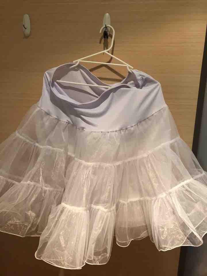 White crinoline/petticoat