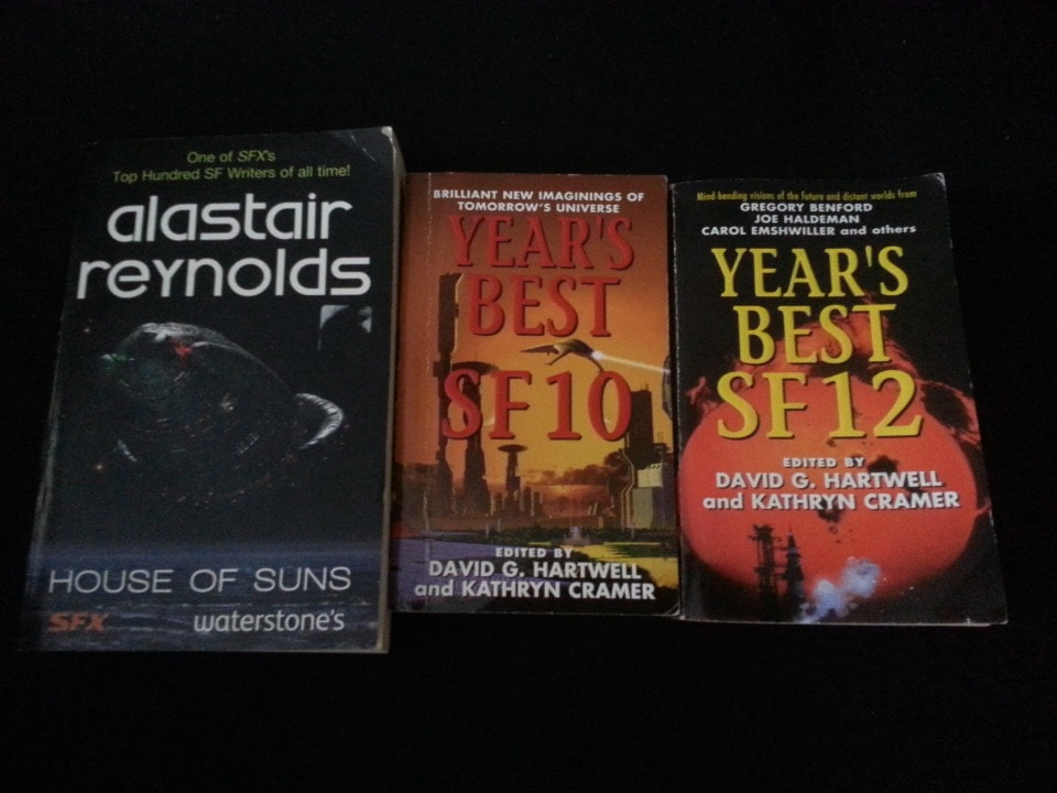 3  Science Fiction books