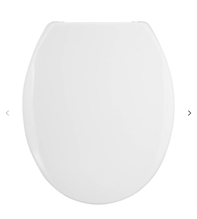 WANTED - white toilet seat cover