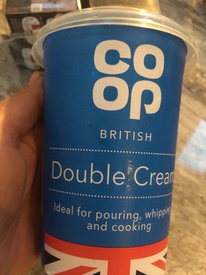 Large pot double cream