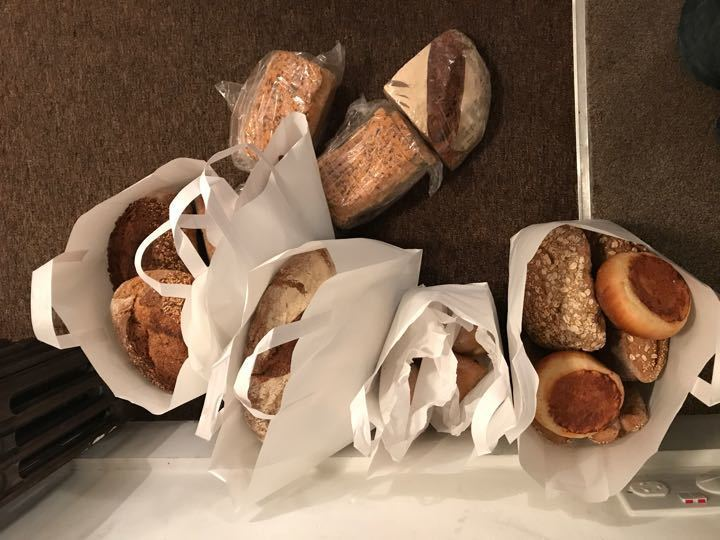 Flour pot bread