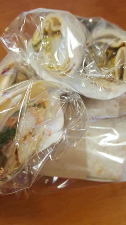 3 chicken wraps