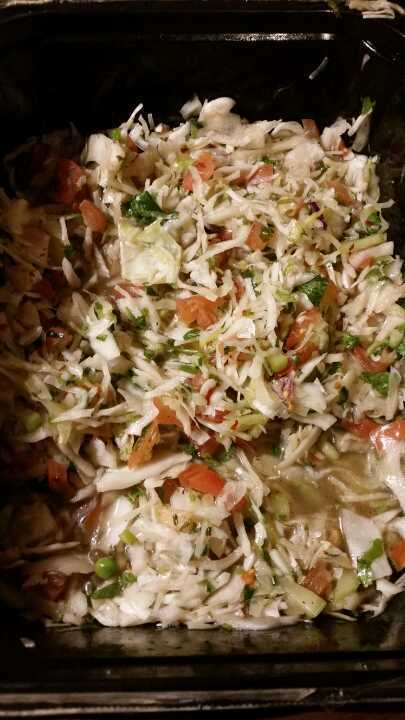 White cabbage Salad from Nude Food
