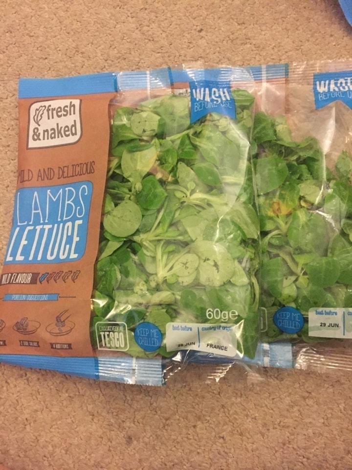 2x lambs lettuce