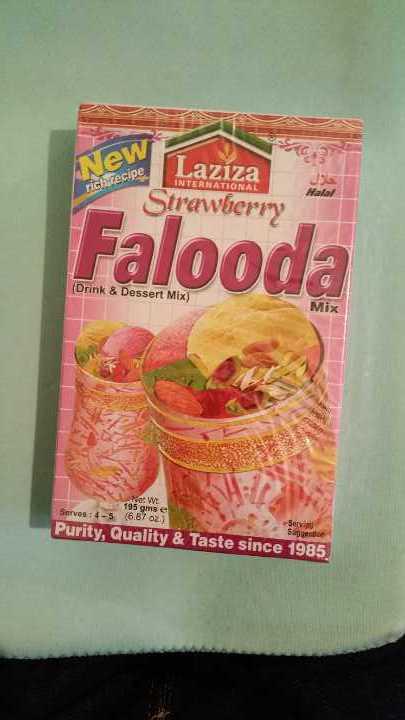 Strawberry Falooda Mix