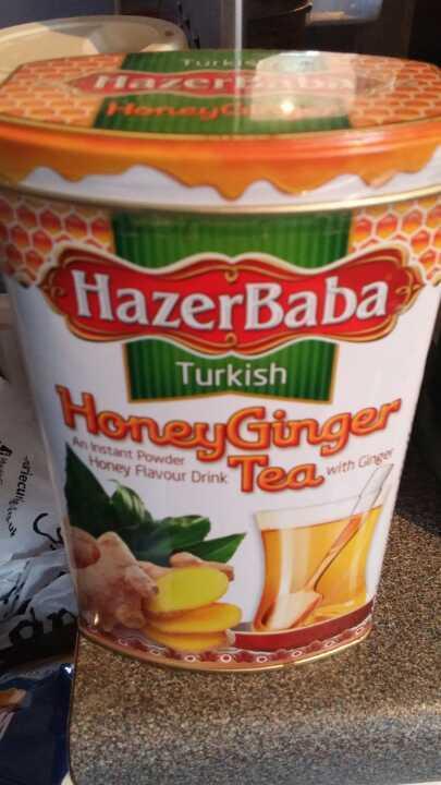 Turkish Honey ginger tea