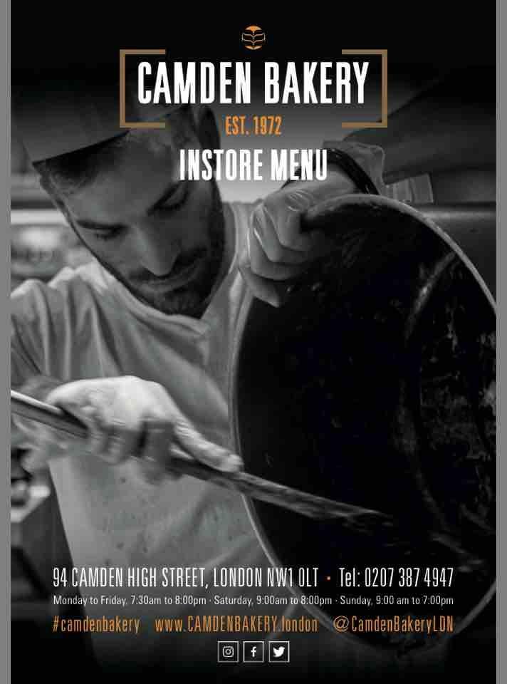 Camden bakery small bread loaves
