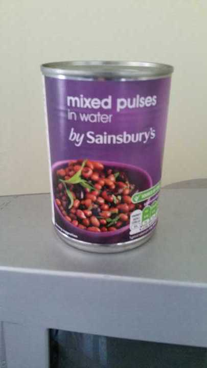 Mixed Pulses in water