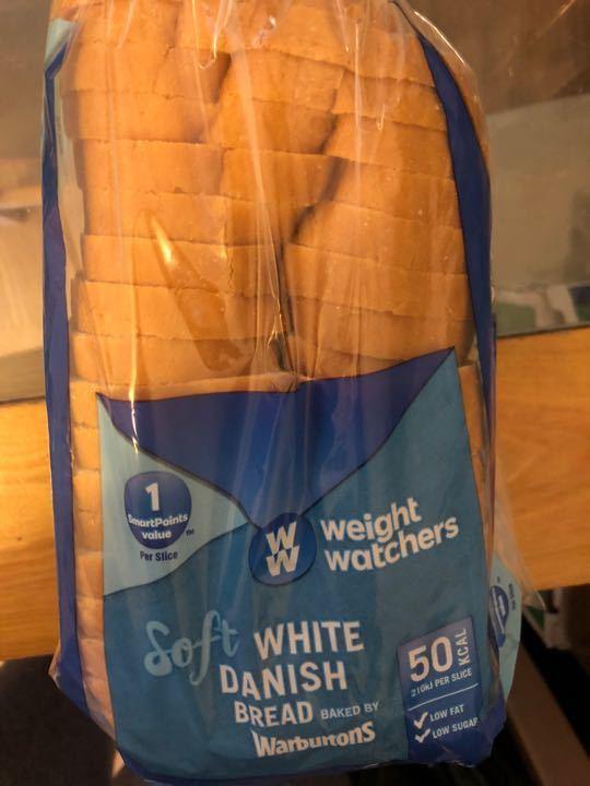 Weight watchers white danish bread