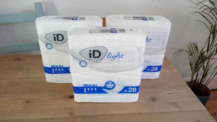 Id light incontinence / maternity pads x 3 packs