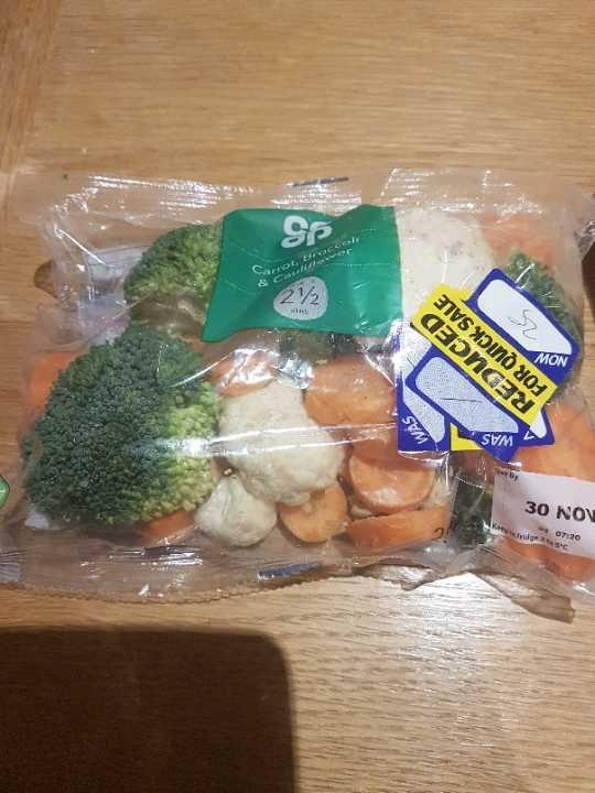 Carrots, Broccoli and cauliflower