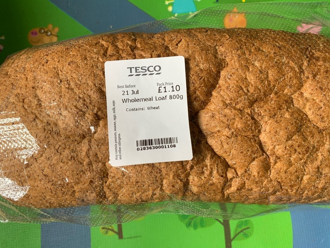 Wholemeal bread x1