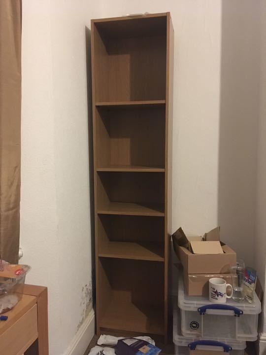 Shelf unit.
