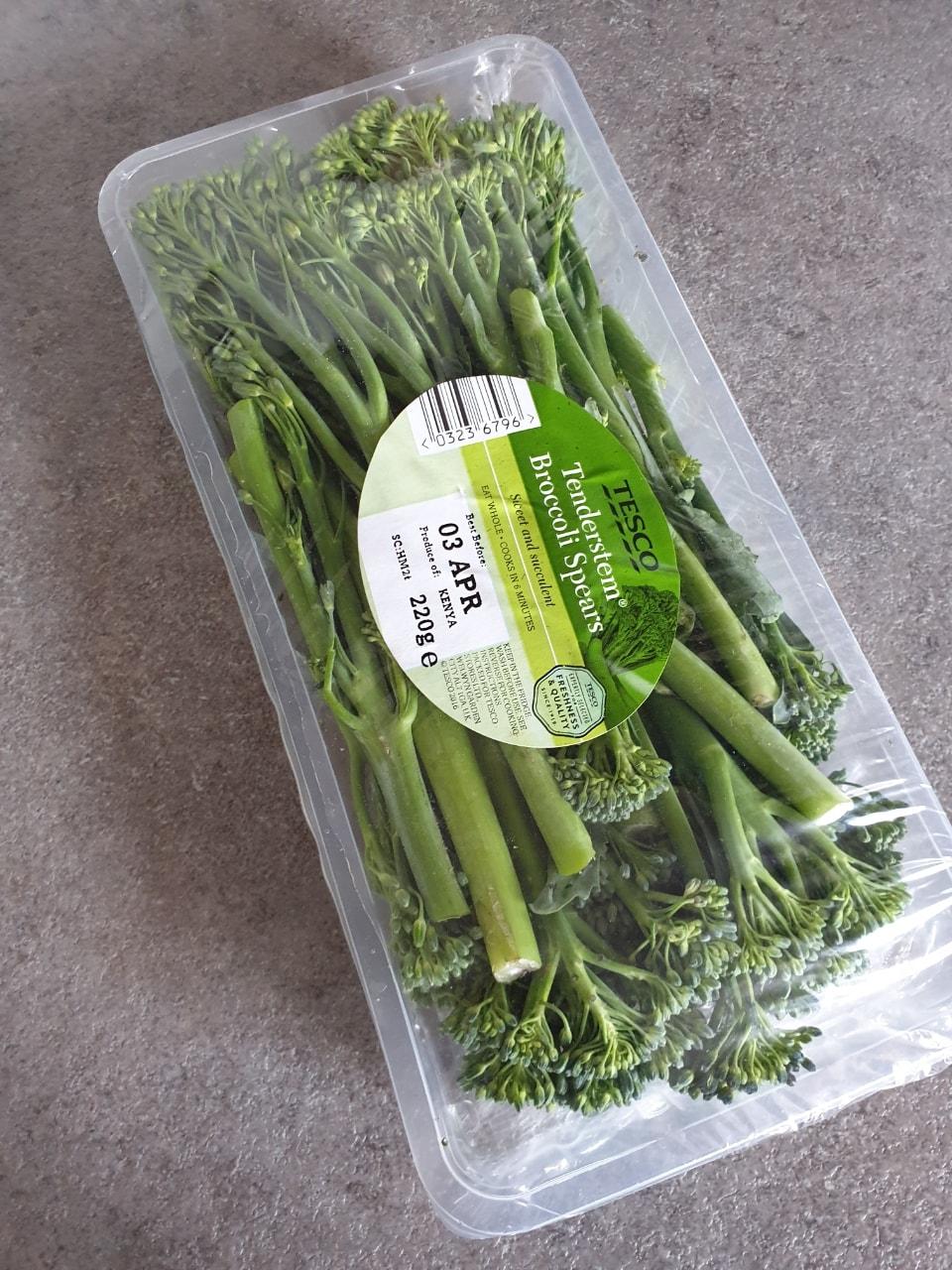 Tenderstem broccoli best before 03rd April