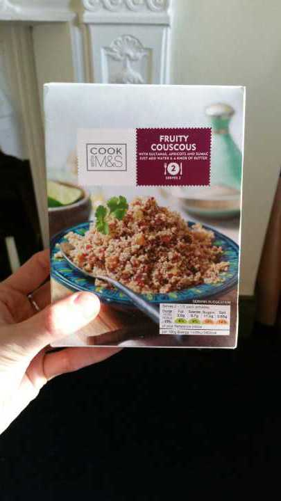 Box of fruity cous cous