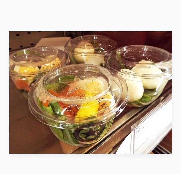 SALADS from Pret SATURDAY  7:30