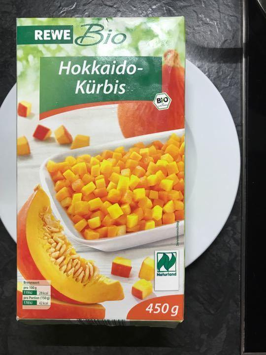 Frozen Hokkaido Kürbis