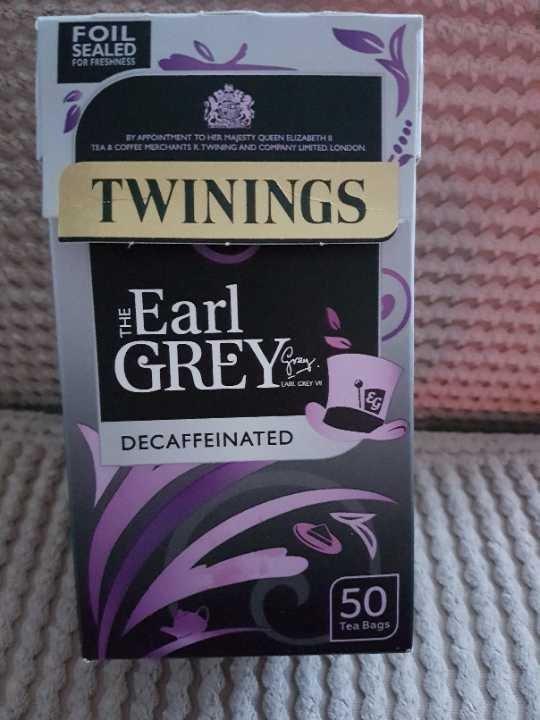 Decaff Earl Grey tea
