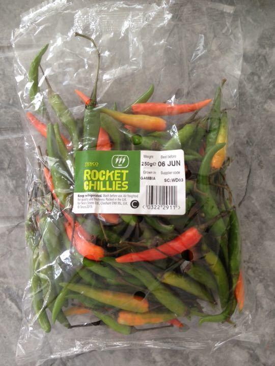 250g rocket chillies