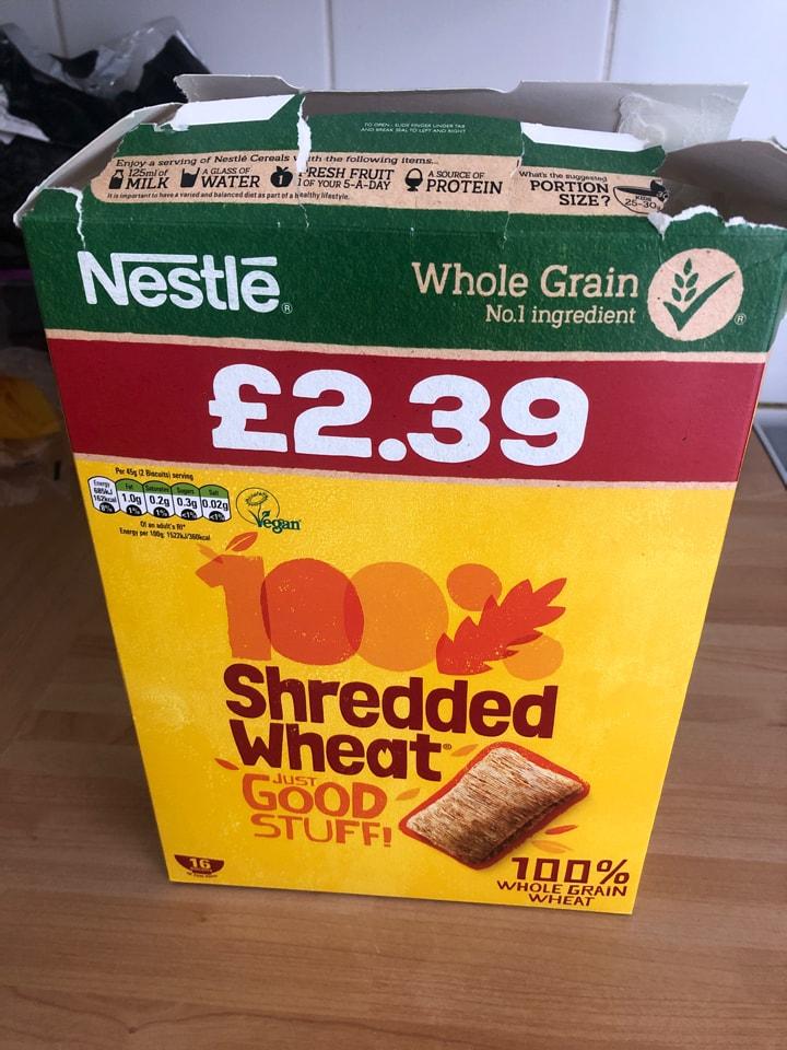 Shredded Wheat - Opened