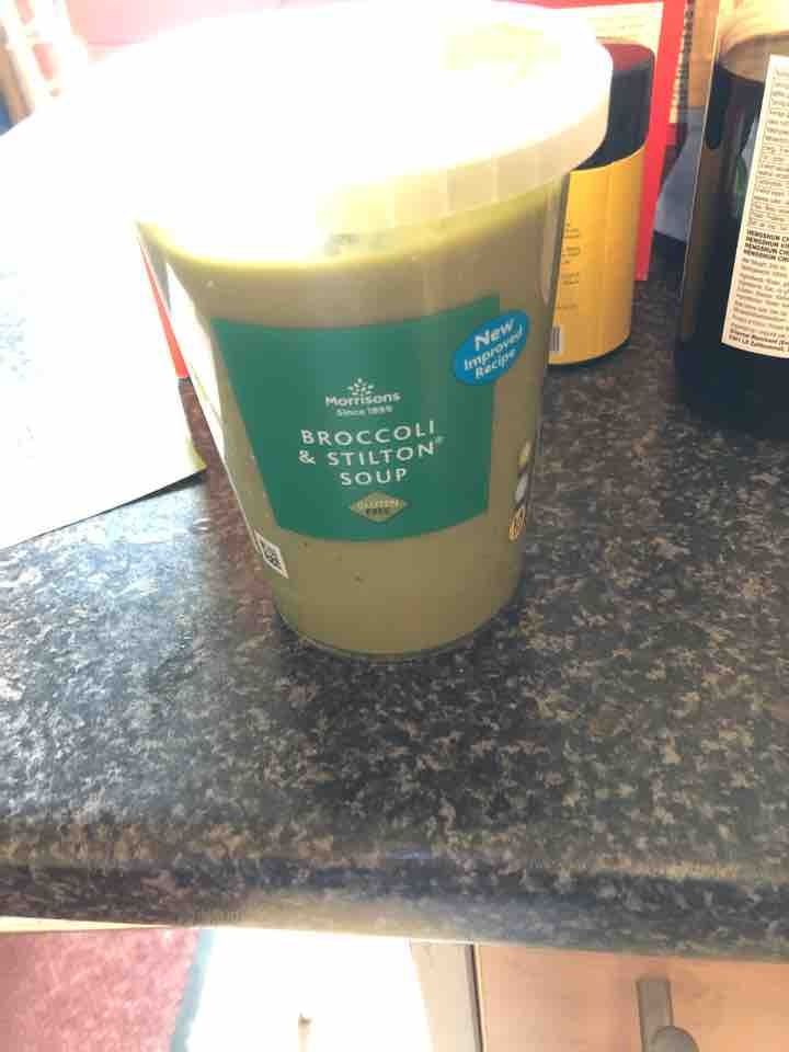 Morrisons Broccoli and Stilton Soup