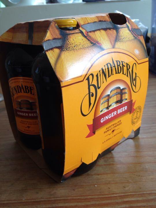 2x 375ml sealed ginger beer