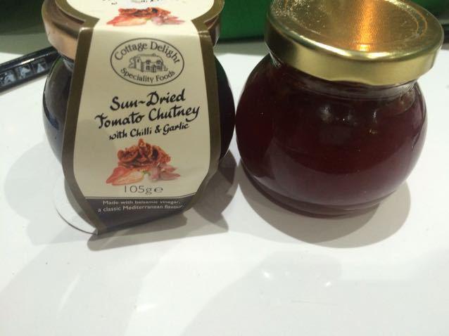 Chilli Jam and tomato Chutney