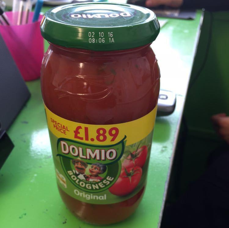 Dolmino Bolegense sauce