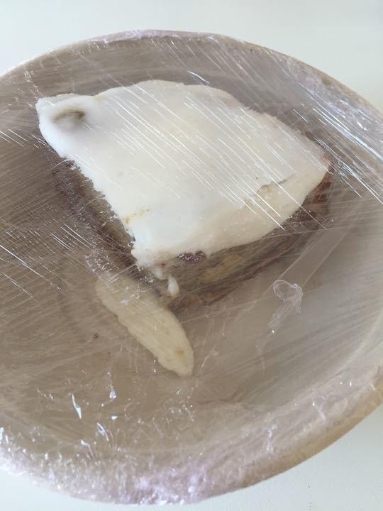 Homemade banana cake