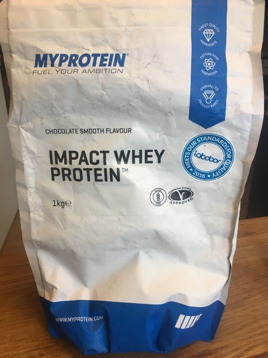 Choc protein powder (1/4 bag)