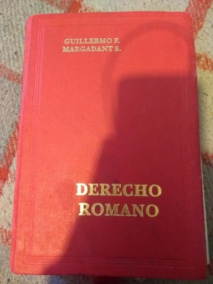 Libro Derecho Romano de Margadant
