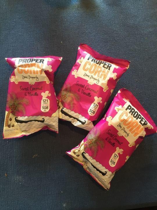 3 bags of Propercorn