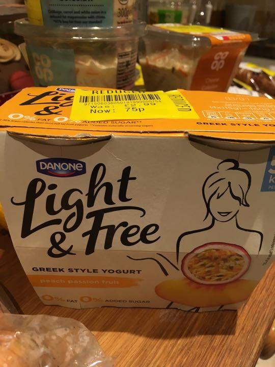 Danone light and free
