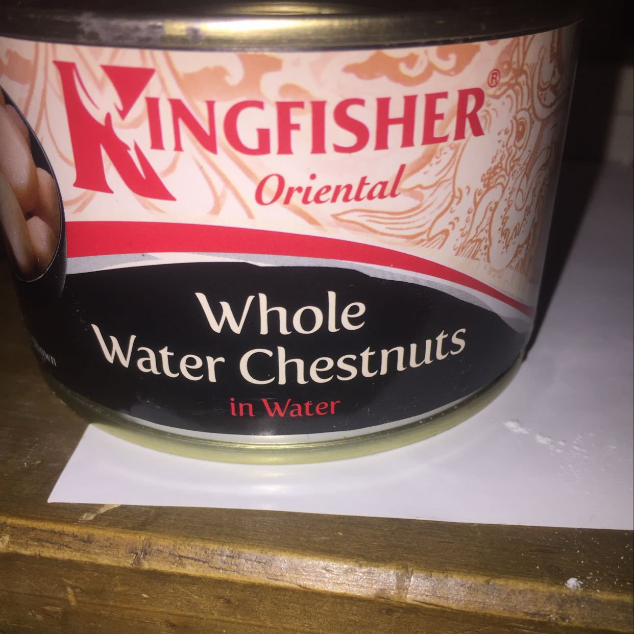Kingfisher while water chestnuts