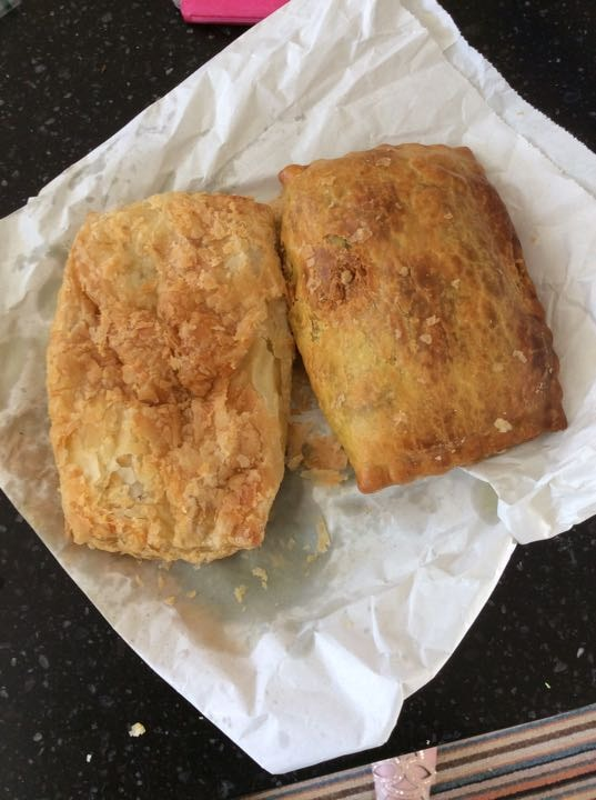 Curry pasties