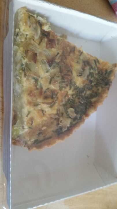 Quiche with leeks from Cocorico