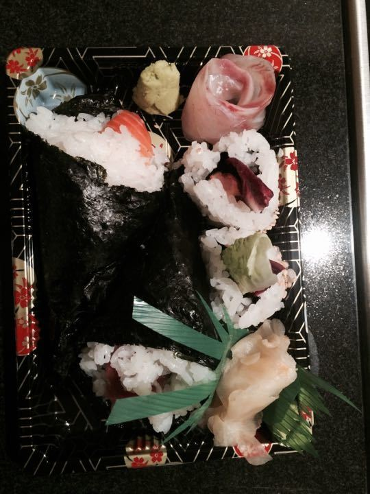 Sushi from Jin Kichi in Hampstead
