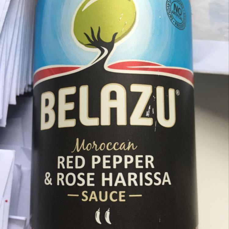 Red pepper and rose harissa sauce - belazu