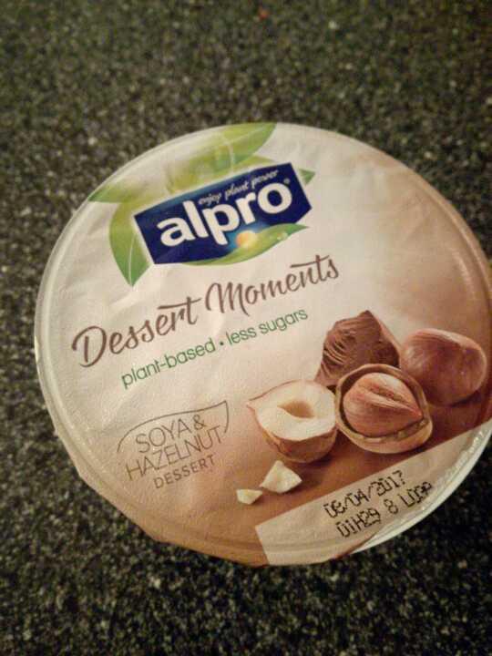 Alpro Chocolate and Hazelnut Yogurt