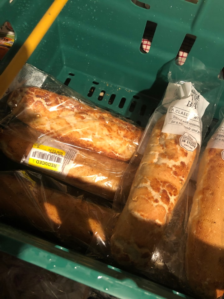Tesco- large or small tiger baguettes