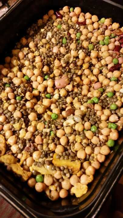 Chickpea and Bean Salad from Nude Food