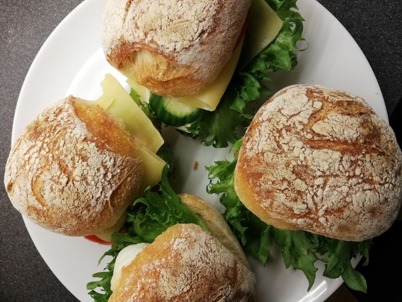 Vegetarian sandiwches