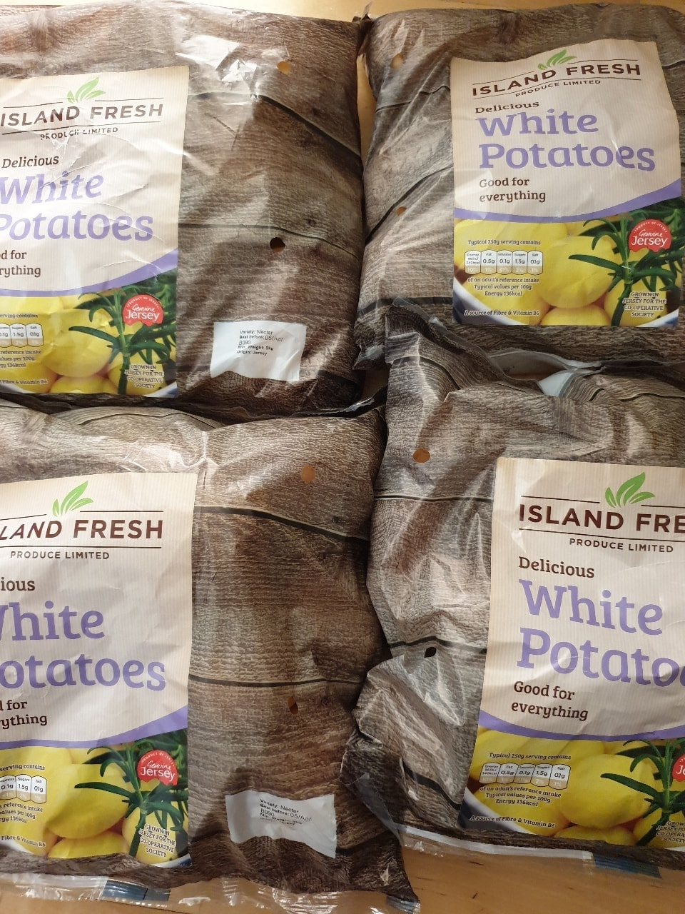 White Potatoes