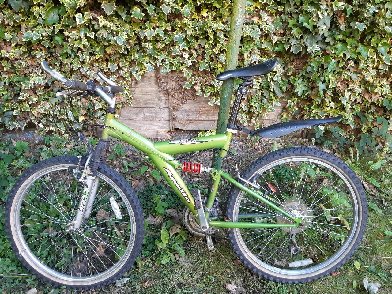 Apollo used mountain bike