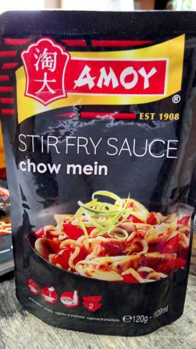 Amount chow mein stir fry sauce