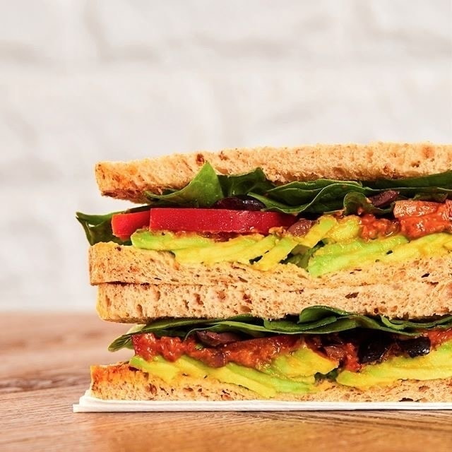 Pret Scottish Smoke Salmon sandwich