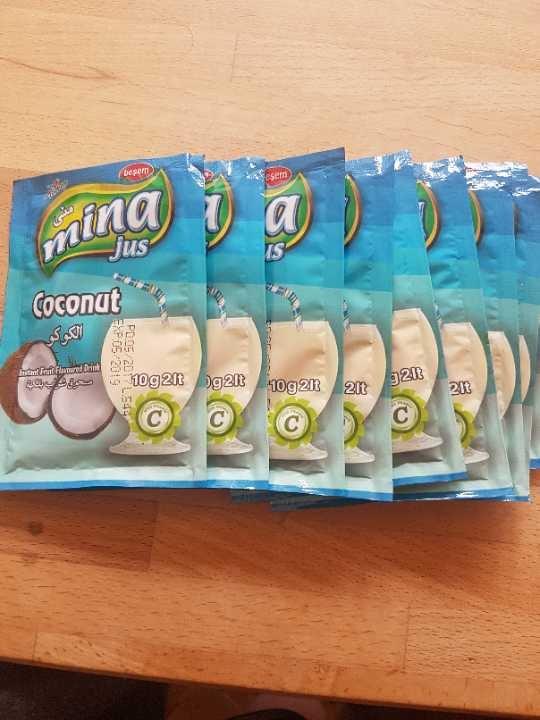 Coconut juice powder (Mina Jus)
