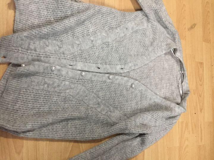 Grey cardigan size 12-14