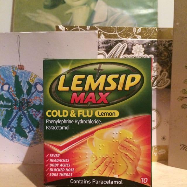 Lemon lemsip